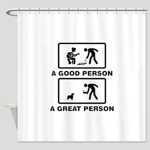 Powderpuff Shower Curtain