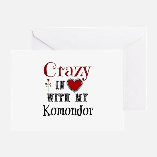 Komondor Greeting Cards
