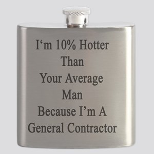 I'm 10% Hotter Than Your Average Man Because Flask