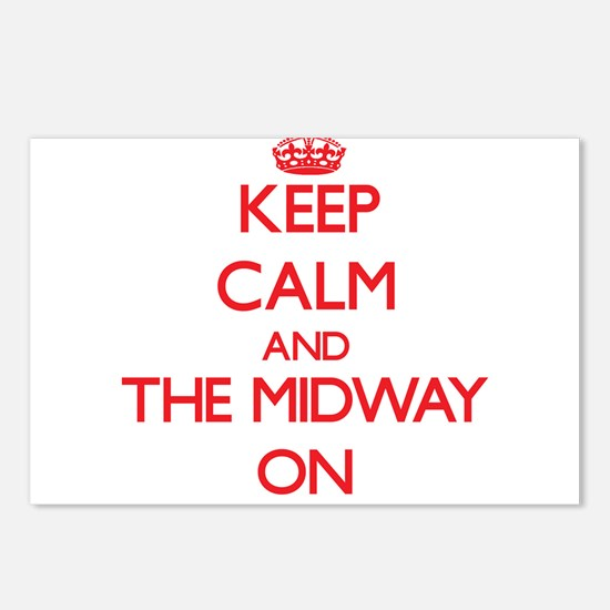Keep Calm and The Midway Postcards (Package of 8)
