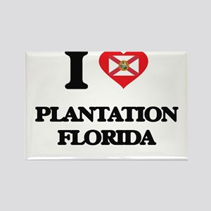I love Plantation Florida Magnets