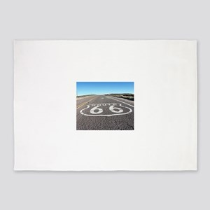Route 66 5'x7'Area Rug