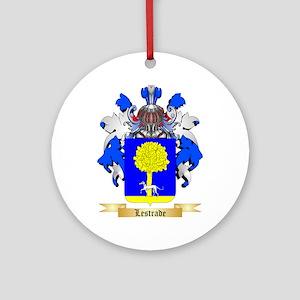 Lestrade Ornament (Round)