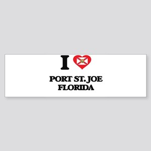I love Port St. Joe Florida Bumper Sticker