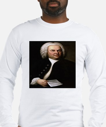 Bach Portrait Long Sleeve T-Shirt