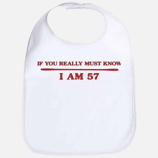 I am 57 Bib
