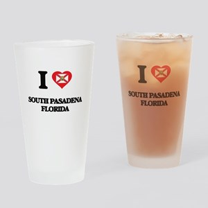 I love South Pasadena Florida Drinking Glass