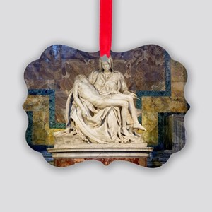The Pietà  Picture Ornament