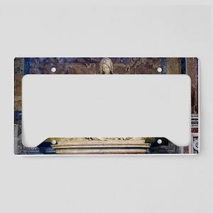 The Pietà  License Plate Holder