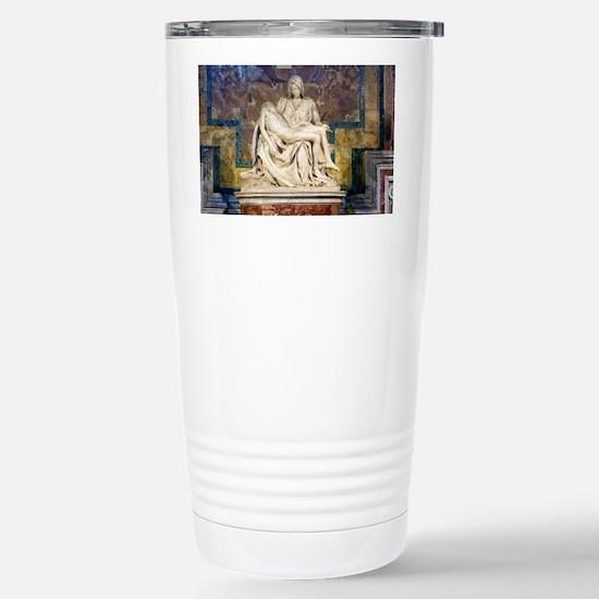 The Pietà  Stainless Steel Travel Mug
