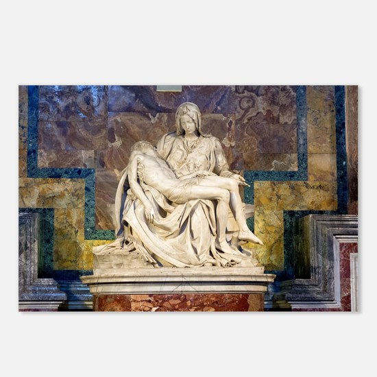 The Pietà  Postcards (Package of 8)