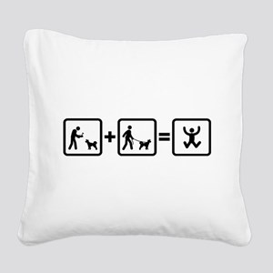 Pumi Square Canvas Pillow