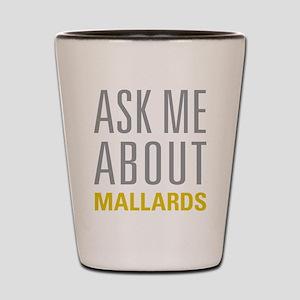 Mallards Shot Glass