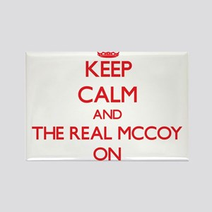 Keep Calm and The Real Mccoy ON Magnets