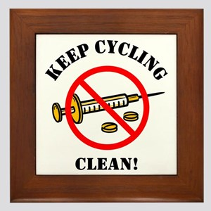 Drug-Free Cycling Framed Tile