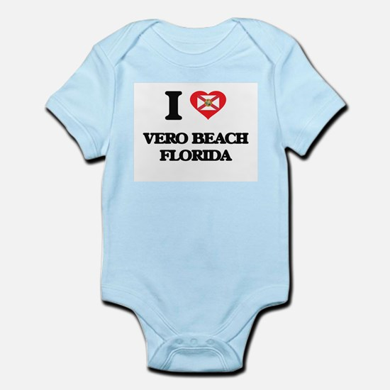I love Vero Beach Florida Body Suit