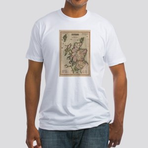 Vintage Map of Scotland (1814) T-Shirt