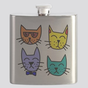Cool Cats Flask