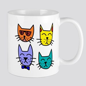 Cool Cats 11 oz Ceramic Mug