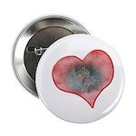 Valentine Squirrels Button
