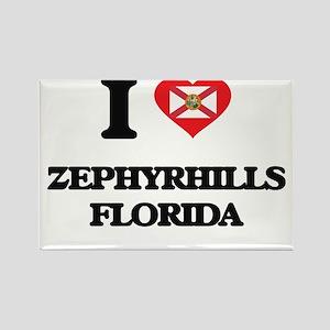 I love Zephyrhills Florida Magnets
