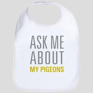 My Pigeons Bib
