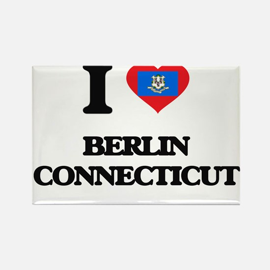 I love Berlin Connecticut Magnets