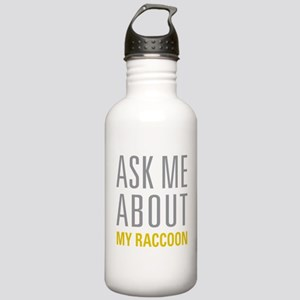 My Raccoon Stainless Water Bottle 1.0L