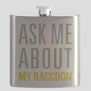 My Raccoon Flask