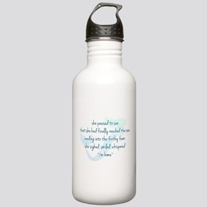 Mermaid Watercolor Stainless Water Bottle 1.0L