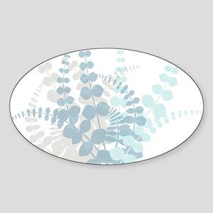 Modern Tropical Floral Sticker