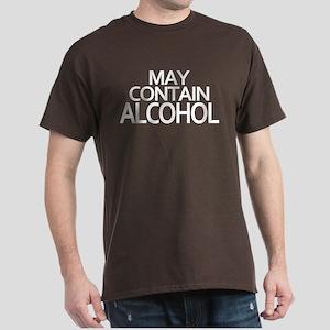 May Contain Alcohol Dark T-Shirt