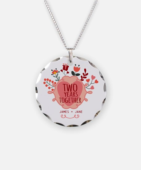 Personalized Gift for 2nd An Necklace