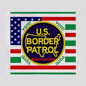 U.S. Border Patrol Throw Blanket