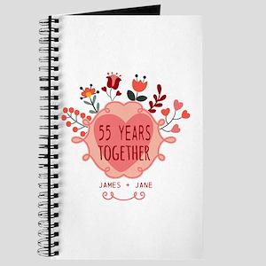 Custom Year and Name Anniversary Journal