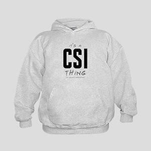It's a CSI Thing Kid's Hoodie