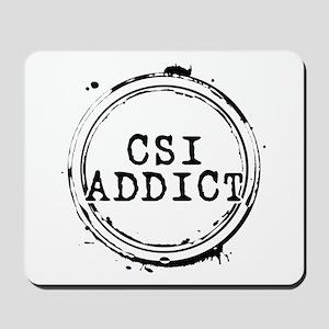 CSI Addict Stamp Mousepad