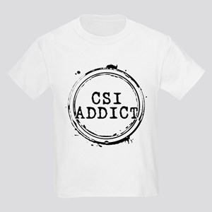 CSI Addict Stamp Kids Light T-Shirt