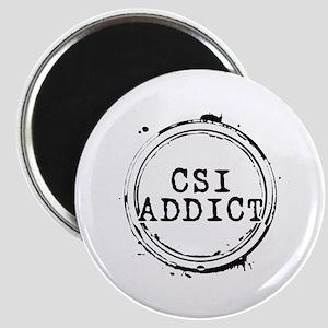 CSI Addict Stamp Magnet