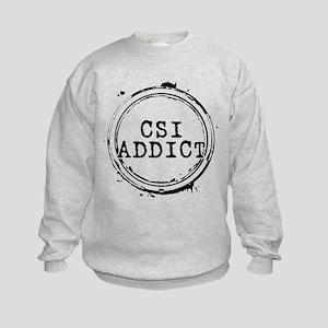 CSI Addict Stamp Kids Sweatshirt