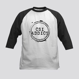 CSI Addict Stamp Kids Baseball Jersey