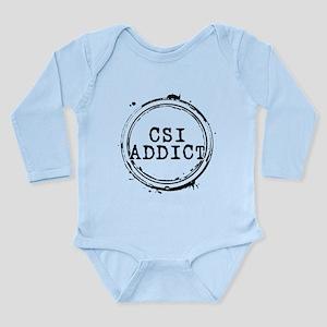 CSI Addict Stamp Long Sleeve Infant Bodysuit