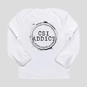 CSI Addict Stamp Long Sleeve Infant T-Shirt