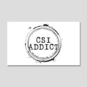CSI Addict Stamp Car Magnet 20 x 12