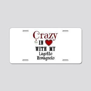 Lagotto Romagnolo Aluminum License Plate