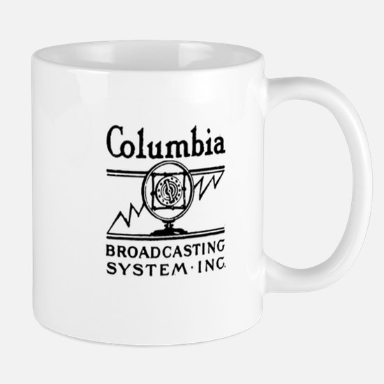 CBS RADIO - COLUMBIA BROADCASTING SYSTEM - OL Mugs