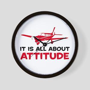 Attitude A Wall Clock