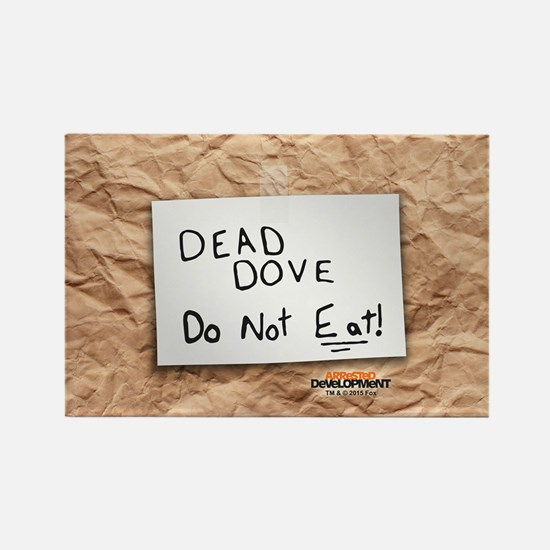 Arrested Development Dead Dove Rectangle Magnet