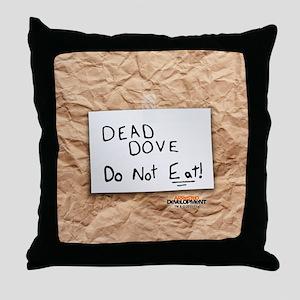 Arrested Development Dead Dove Throw Pillow