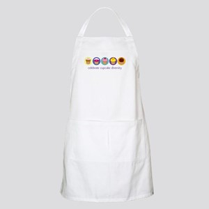 Cupcake Diversity Light Apron